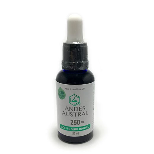 ACEITE DE CANNABIS 250 MG 30 ML - ANDES AUSTRAL