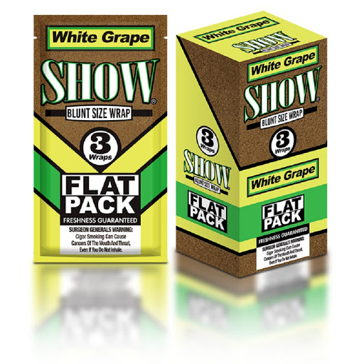 BLUNT SHOW - FLAT PACK WHITE GRAPE