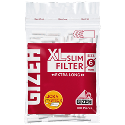 FILTROS XL SLIM 6 MM EXTRA LONG - GIZEH