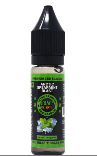 ESENCIA ARCTIC SPEARMINT BLAST CBD (75 MG) 16,5 ML - HEMP BOMBS