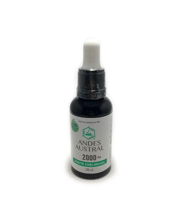 ACEITE DE CANNABIS 2000 MG 30 ML - ANDES AUSTRAL