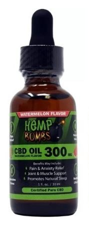 ESENCIA CBD SANDIA 300 MG - HEMP BOMBS